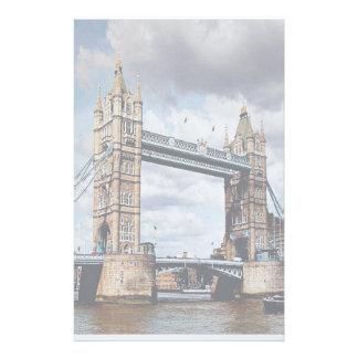 London Bridge Customized Stationery