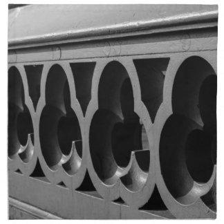 London Bridge Detail Napkin