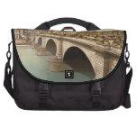 London Bridge, London, England Laptop Messenger Bag