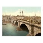 London Bridge, London, England Postcard