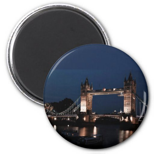London Bridge Refrigerator Magnet