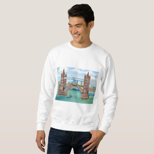 London Bridge Men's Basic Sweatshirt