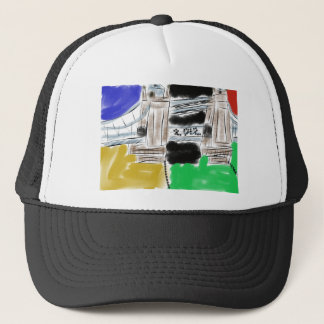 LONDON BRIDGE OLYMPICS TRUCKER HAT