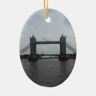 London Bridge & Phone Box - Ceramic Ornament
