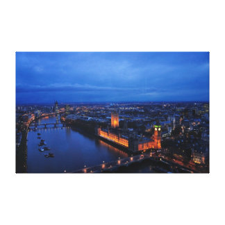 London Bridge Premium Canvas Gallery Wrapped Canvas