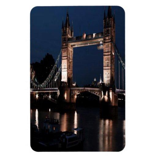 London Bridge Rectangle Magnets