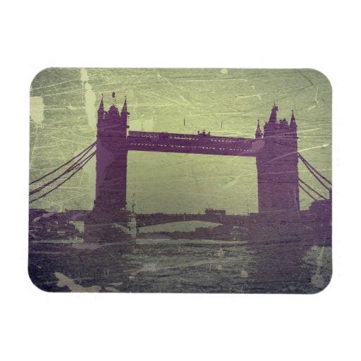 London Bridge Vinyl Magnets