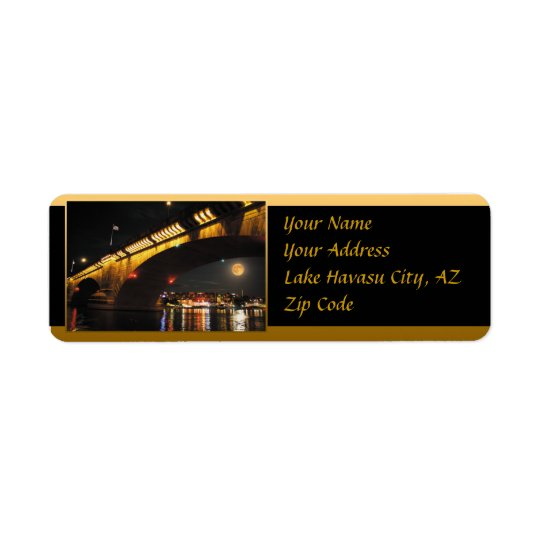 London Bridge Return Address Labels
