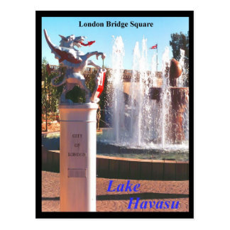London Bridge Square Postcard