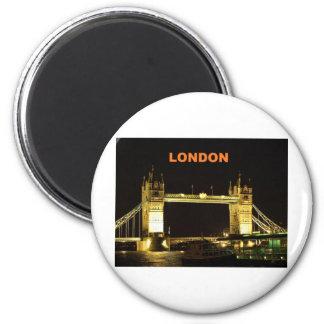 London bridge (St.K) 6 Cm Round Magnet