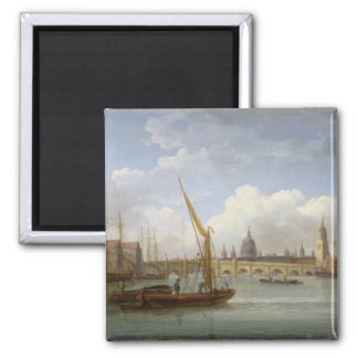 London Bridge, with St. Paul's Cathedral in the Di Square Magnet