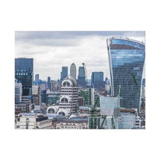 London buildings canvas print