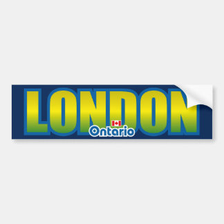 London Bumper Bumper Sticker