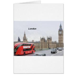 London Bus & Big Ben (St.K) Card