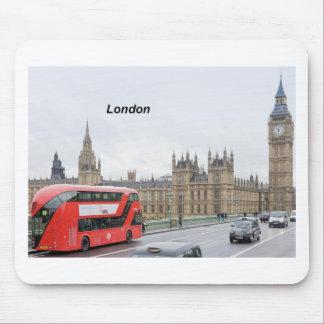London Bus & Big Ben (St.K) Mouse Pad