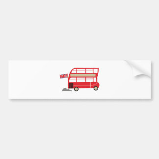 London Bus Bumper Sticker