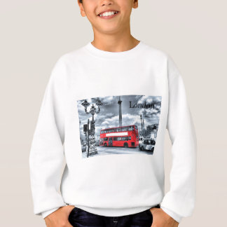 LONDON BUS in Black & White (St.K) Sweatshirt