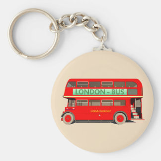 London Bus Key Ring