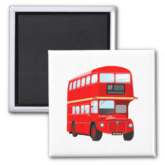 London Bus Magnet