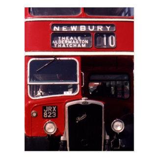London Bus- Newbury Postcard