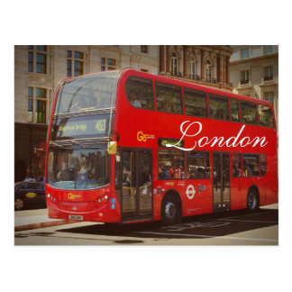 London Bus Postcard