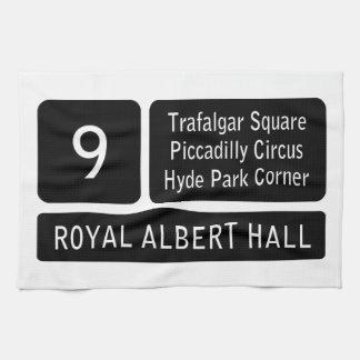 London Bus Route Sign Tea Towel