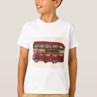 London Bus T Shirt For Kids