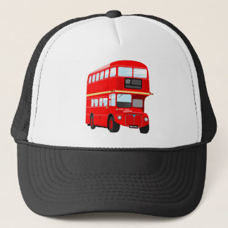 London Bus Trucker Hat