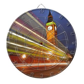 London by night dartboard