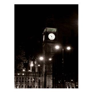 London by Night Postcard