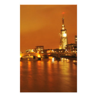 London by night stationery