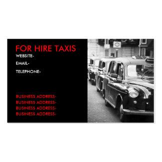 London cabbies business card templates