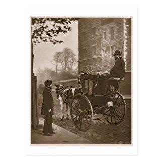 London Cabmen, from 'Street Life in London', 1877- Postcard