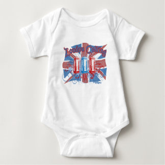 London Calling Baby Bodysuit