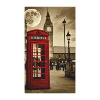 London Calling Gallery Wrapped Canvas