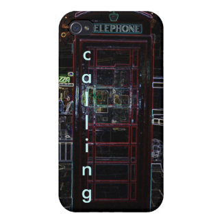 London Calling Hard 4 4S iPhone 4/4S Covers