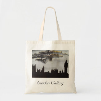London Calling Houses of Parliament Tote Bag