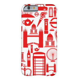 London Calling Retro Graphic Barely There iPhone 6 Case
