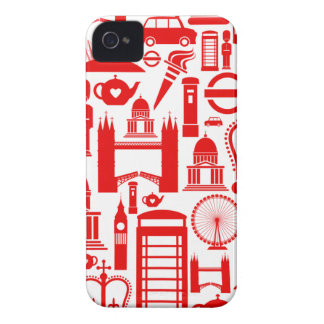 London Calling Retro Graphic iPhone 4 Case-Mate Cases