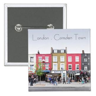 London Camden Town Market UK Buttons