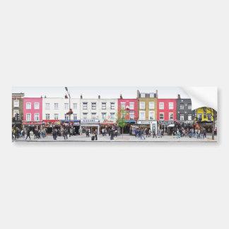 London Camden Town Market UK Bumper Sticker