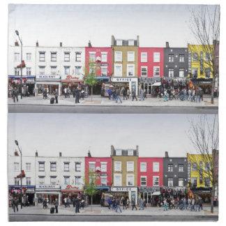 London Camden Town Market UK Cloth Napkins