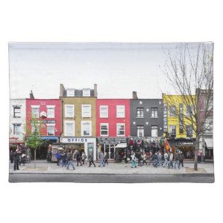 London Camden Town Market UK Placemat