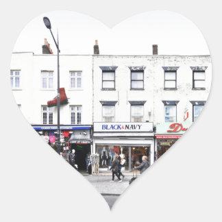 London Camden Town Market UK Heart Sticker