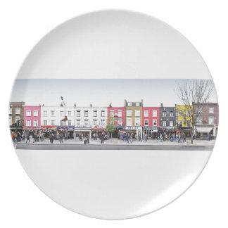 London Camden Town Market UK Dinner Plates
