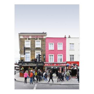 London Camden Town Market UK Post Card