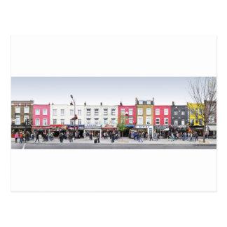 London Camden Town Market UK Postcard