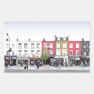 London Camden Town Market UK Rectangular Sticker