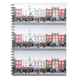 London Camden Town Market UK Spiral Notebooks