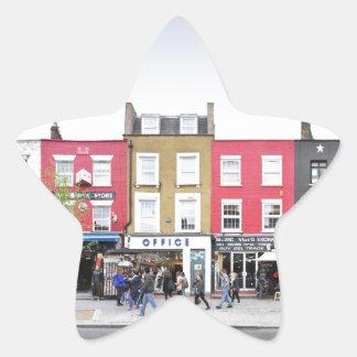 London Camden Town Market UK Star Sticker